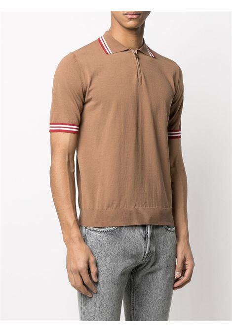 Brow cotton striped-trim polo shirt  ELEVENTY |  | C76MAGC31-MAG0C01504